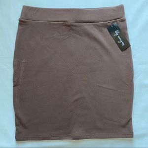 3/20$ Brown Soft Skirt Small